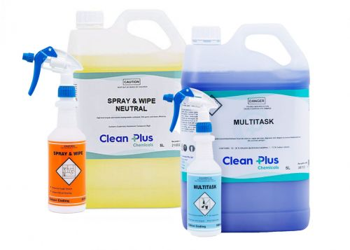 Spray & Wipe Cleaners