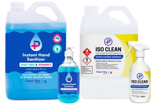Hand Sanitiser Systems