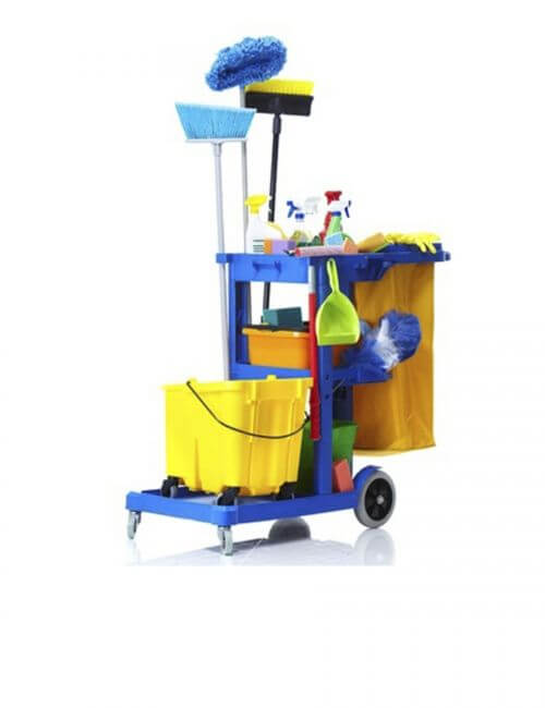 Janitorial Carts & Wet Floor Signs